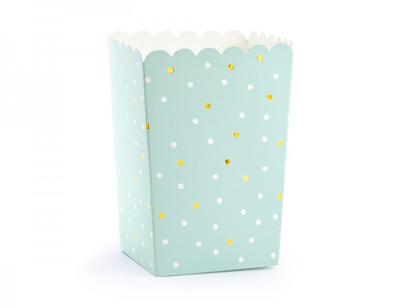 Candy Boxen Set mint dots gold