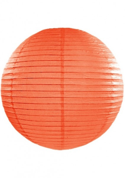 Lampion orange 35 cm