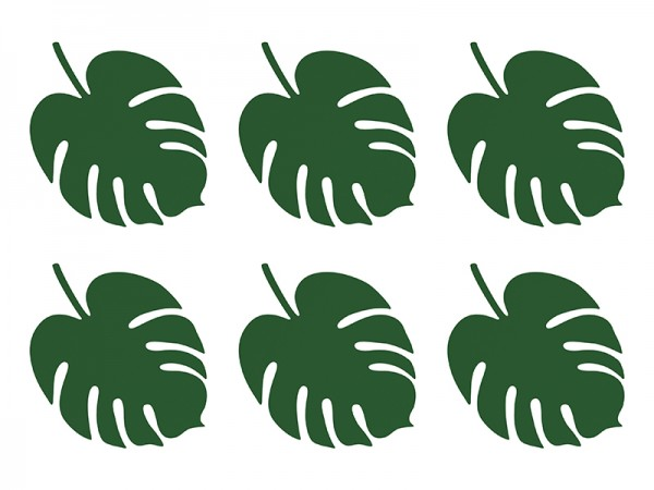 Dekoblätter Set Monstera