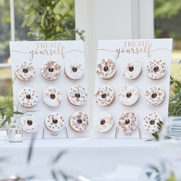 Donut Wall Set roségold
