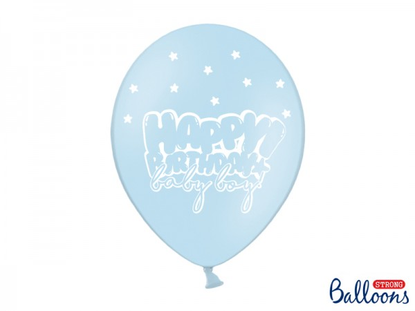 Ballons Happy Birthday baby boy