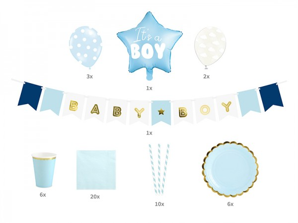 Party Set Baby Shower It's a boy