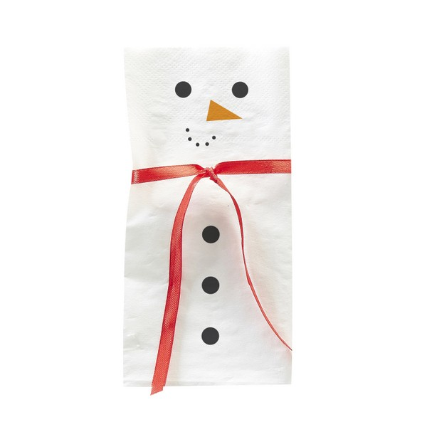 Servietten Novelty Christmas Schneemann
