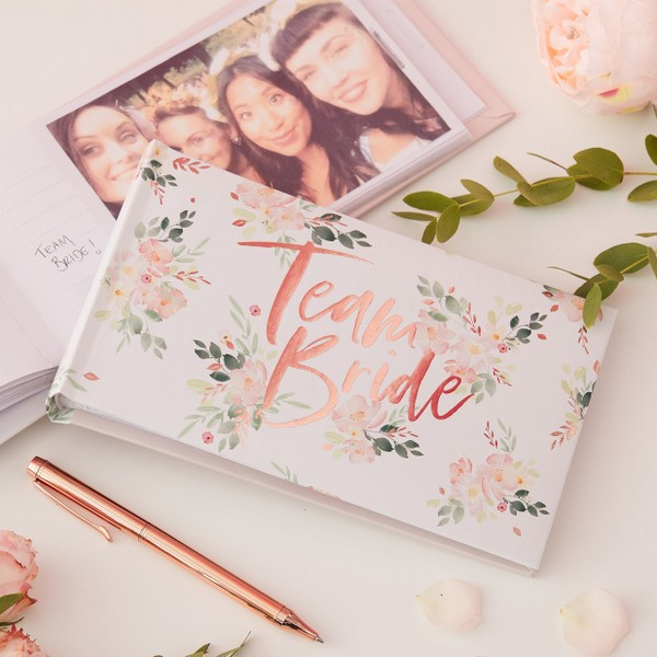 Photoalbum Team Bride Floral