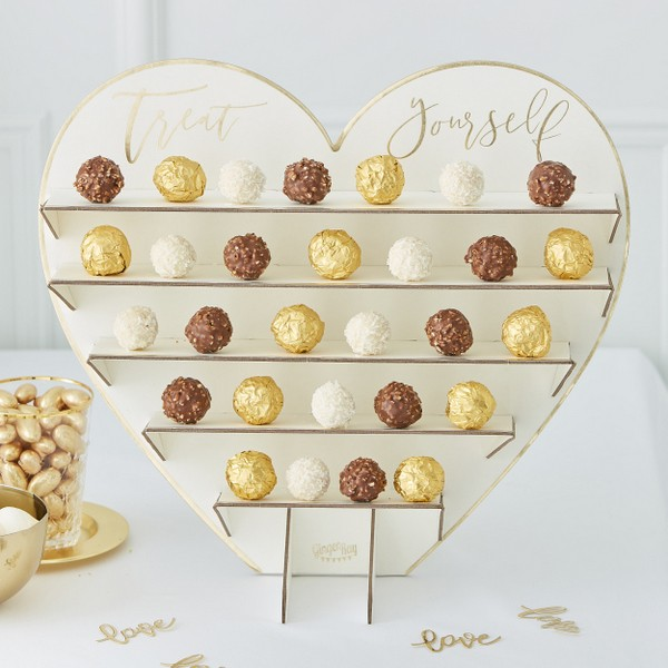 Candy Wall Herz gold
