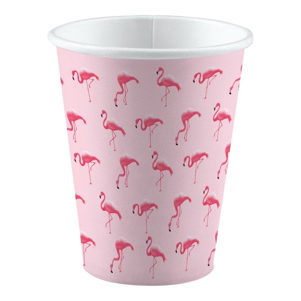 Pappbecher Flamingo Paradise