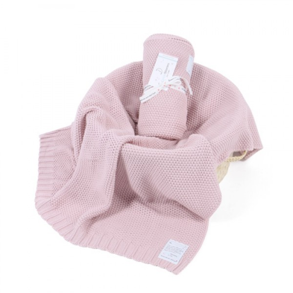Babydecke CottonClassic rosa