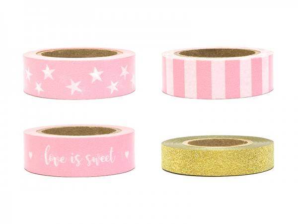 Washi Tape Set love is sweet