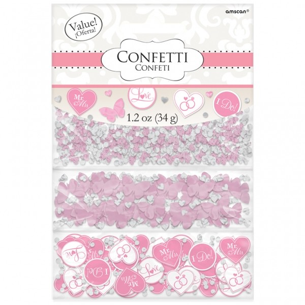 Konfetti 'I do' rosa