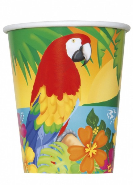 Pappbecher Tropical