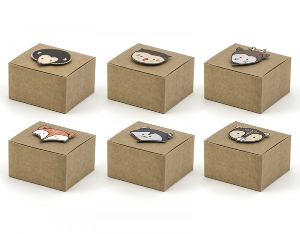 Papierboxen Set Woodland