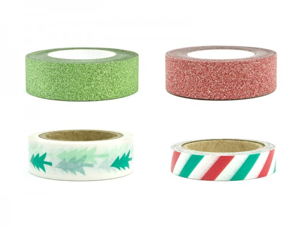 Washi Tape Set Merry Xmas