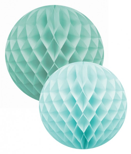 Wabenball Set mint/aqua