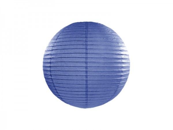 Lampion royal blau 35 cm