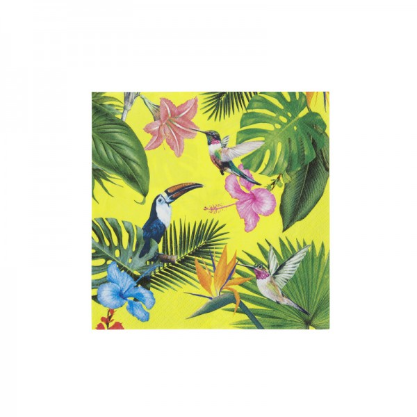 Servietten Tropical Fiesta Bright